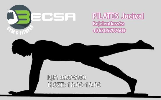 FIT Pilates Jucival nálunk Sopronban